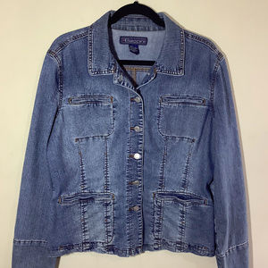 Baccini Denim Jean Jacket